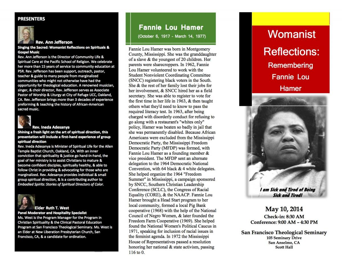 Womanist Flier 2