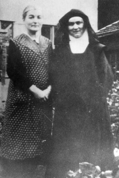 Rosa and Edith Stein, Echt, 1939