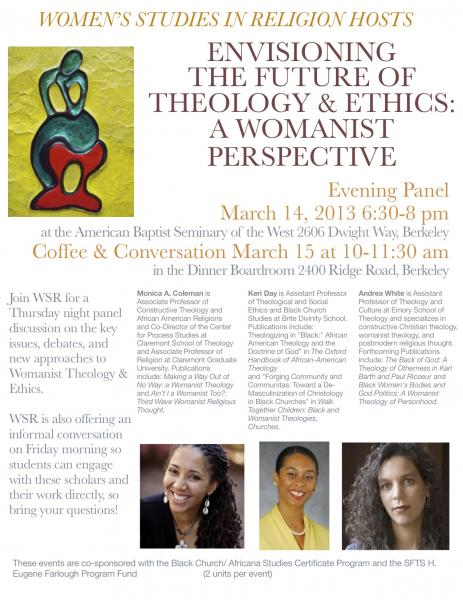 Womanist Ethics Flyer